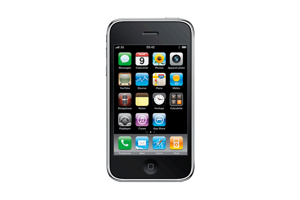 Apple - iPhone 3GS 32Go Noir Remis à Neuf