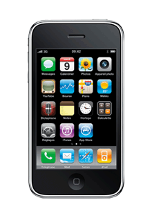 Apple iPhone 3GS 32Go Noir Remis à Neuf