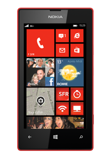 NOKIA LUMIA 520 Rouge